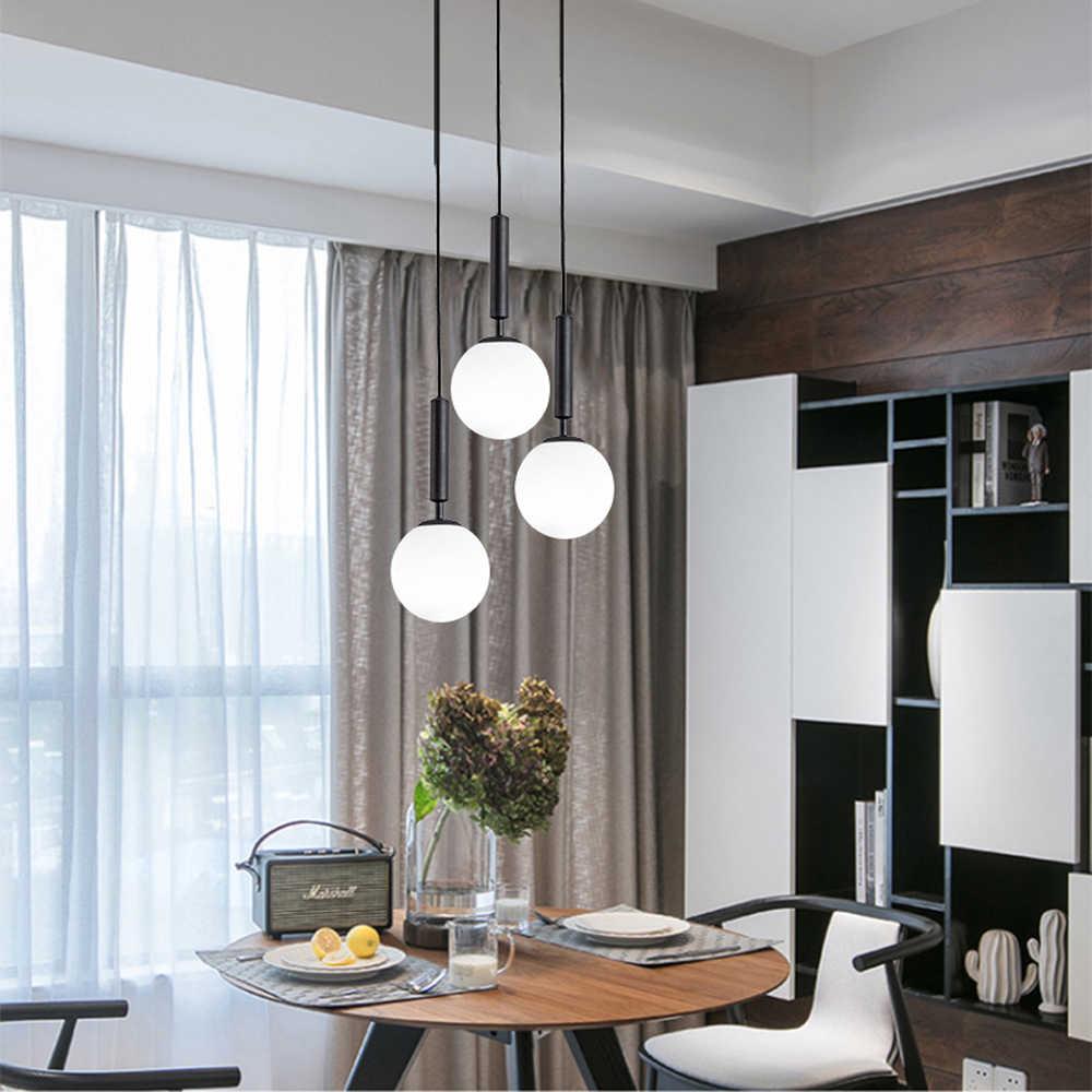 Luces colgantes LED modernas, lámpara colgante para comedor, lámpara colgante para Bar, lámparas de techo, lámpara colgante moderna, suspensión de luminaria