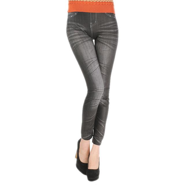 Comfortable Skinny Pants Denim Legins Women Fashion Sexy Women Jean Skinny Leggings Stretchy Slim Leggings