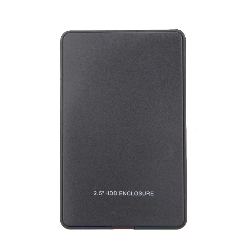 Portable External HD Hard Drive Hard Disk Case USB2.0 Port To IDE PATA 2.5inch HDD Notebook HDD Enclosure Box
