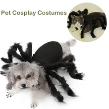 Pet Costume for Cat Dog Dogs Clothes Halloween Spider Cosplay Bat Role Play Dressing Up For Party Christmas