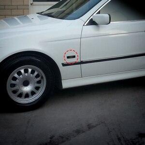 Image 5 - Luz marcador de led dinâmica para carro, 2 peças, amarelo, flutuante sequencial, seta, 12v para bmw e39 suprimentos de ajuste de carro