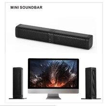 10 Вт Bluetooth Саундбар домашний кинотеатр ТВ AUX оптический звук-бар динамик s Колонка 3D Саундбар сабвуфер динамик для ТВ компьютера