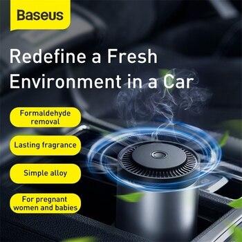 Car Air Freshener Purifier Auto Mini Magnetic Humidifier Freshner Car Air Outlet Diffuser Perfume Fragrance 2