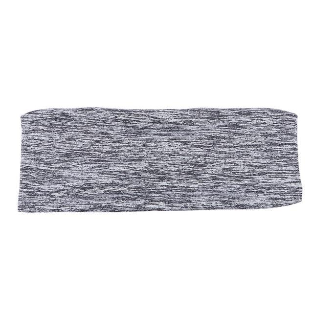 Unisex Running Cycling Yoga Head Belt Riding Basketball Sweat-absorbent Sweatband Headband Outdoor Sports 3