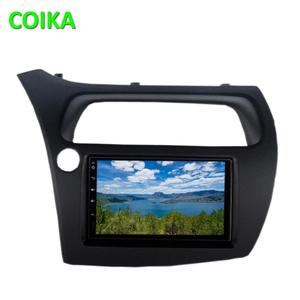 COIKA Android 9.0 System Car Multimedia Stereo For Honda Civic 2006-2012 GPS Navi Radio 8 Core CPU 4+64G RAM WIFI 4G DSP IPS