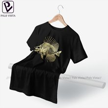 Skeleton T-Shirt Basic Cute Cotton T Shirt Printed Short Sleeves Tee Shirt Male 3xl
