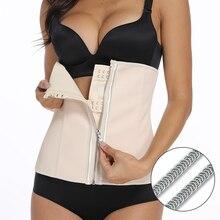 цена Latex Women Body Shaper Rubber Waist Trainer Cincher Trimmer Slimming Belt Modeling Strap Plus Size S-6xl Shapewear Slim Corset