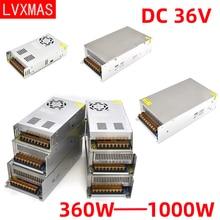 LVXMAS постоянного тока 36В освещение трансформатор питания 360ВТ-1500 Вт адаптер привод Сид свет для бара