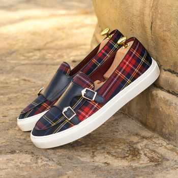 Hand-mixed Color Cloth Shoes for Men Formal Loafers Casual Shoes for Men New Style Light Shoes HA103