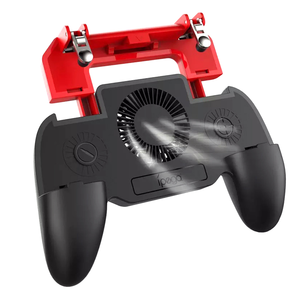 IPEGA PG 9123 Gamepad with Cooling Fan for PUBG Mobile for iphone IOS Android Phone Gamepad Joystick Controller Smartphone in Gamepads from Consumer Electronics