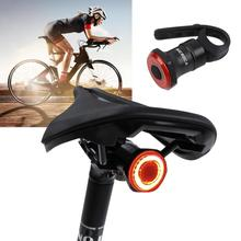 Liplasting Bicycle Sensor Light Intelligent Induction Taillights Bike Safety Riding Night Light USB Charging Bicycle Accessories