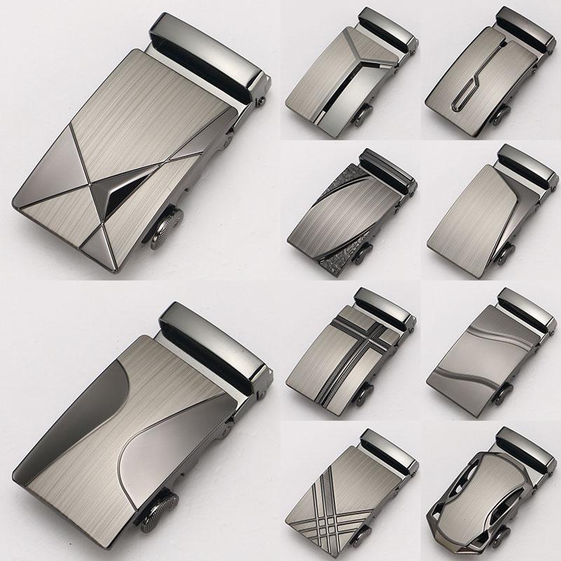 1pc Fashion Men Boutique Laser Technology Alloy Metal Automatic Belt Buckle High Quality Limited Fit 3.5cm Belt Accessories