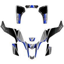 ATV Customized Graphics Decals Sticker Kit DECO Dekor For Suzuki LTZ400 LTZ 400 2003 2004 2005 2006 2007 2008
