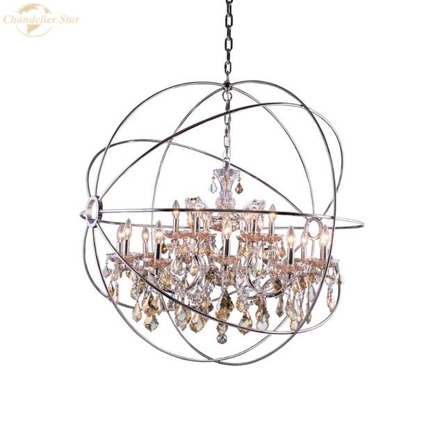 Фото традиционные светодиодные люстры металлические светильники с