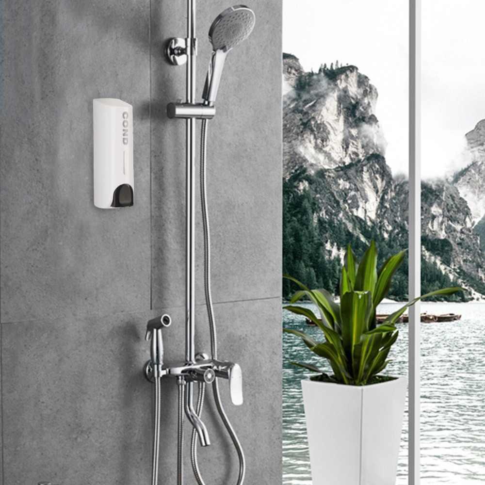 Doppel 800ml Seife Spender Wand Shampoo Dispenser Flüssigkeit Container Bad
