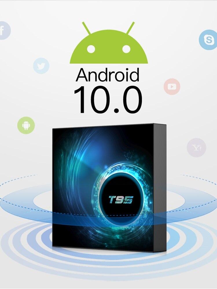 Top-Box Allwinner H616 Android-10.0 Google Media-Play 4GB 32GB 64GB 16GB-SET Quad-Core