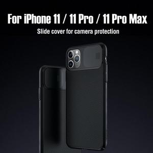 Image 1 - For iPhone 11 Pro Max Case NILLKIN CamShield Case protect camera PC Back cover for iPhone 11 Lens Protection back Case