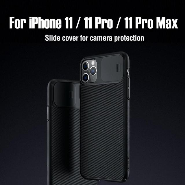 For iPhone 11 Pro Max Case NILLKIN CamShield Case protect camera PC Back cover for iPhone 11 Lens Protection back Case