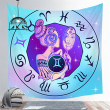Twelve Constellations Tapestry Digital Printing Decorative Tapestry Wall Background Tapestry Wholesale Art Tapestry Wall Decor цена 2017