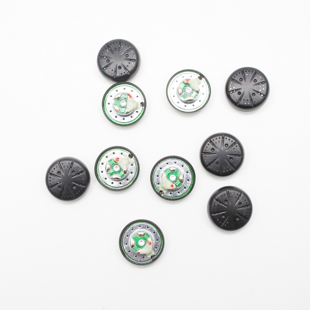 5 Pairs/Lot DIY <font><b>Vido</b></font> Earphone Speaker 15.4mm Flat Head Earbuds Speaker Diy <font><b>MX500</b></font> Driver Unit for <font><b>Vido</b></font> Earphone image