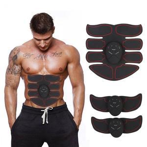 Image 1 - Vet Brander Spierstimulator Apparaat Ems Intelligente Buik Abs Training Massager Body Building Patch Buikspieroefening Machine