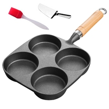 Pans Non-Stick with Shovel-Brush Gas-Stove Ham Pancake-Maker Cooking-Pot Burger-Eggs