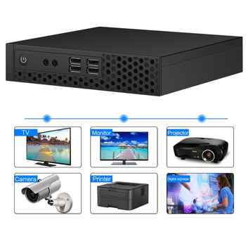 chatreey s1 intel mini pc core i3 i5 i7 9th desktop upgradable gaming computer Dual ddr4 windows 10 linux thin client HTPC