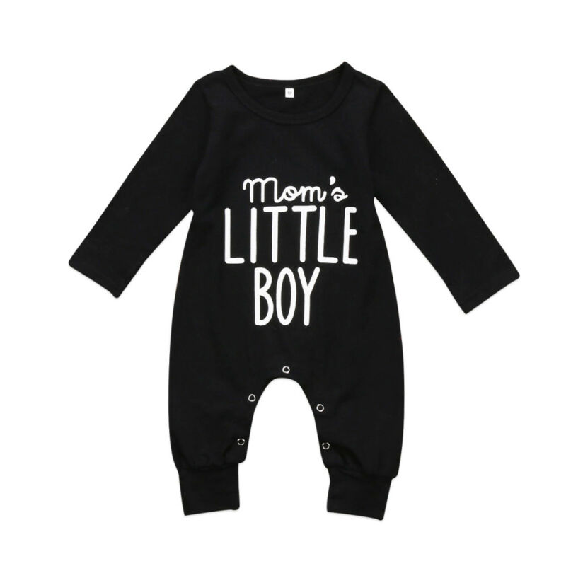 NEW 2020 Cute Newborn Baby Boys Cotton Romper Long Sleeves Jumpsuit Bodysuit Outfits Clothes 0-24M