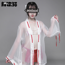 Woman Sexy Uniform Temptation Cosplay Witch Love Chest Piece Bundled Pleated Skirt Japanese Sexy Lin