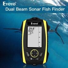 Eyoyo E4 Portable Fish Finder Depth Sonar Sounder echo dounder sonar echolot fischfinder fisch finder deeper sonar smart fishing