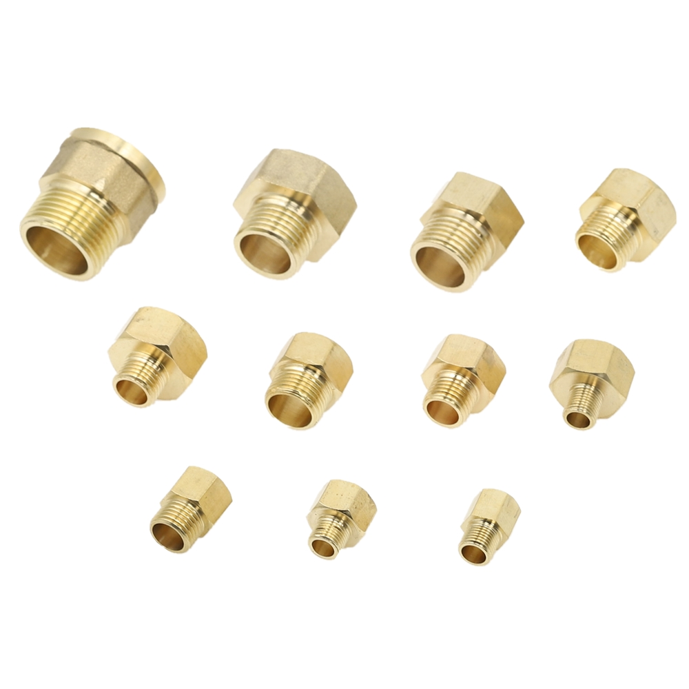 """High quality One pcs Brass NPT G1//2/"""" female transfor 3//4/"""" male threads adapter"""
