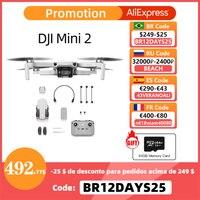 DJI Mini 2 Drone mit 4K/30fps kamera und 4x zoom 10km Übertragung Abstand mavic mini 2 marke neue original auf lager