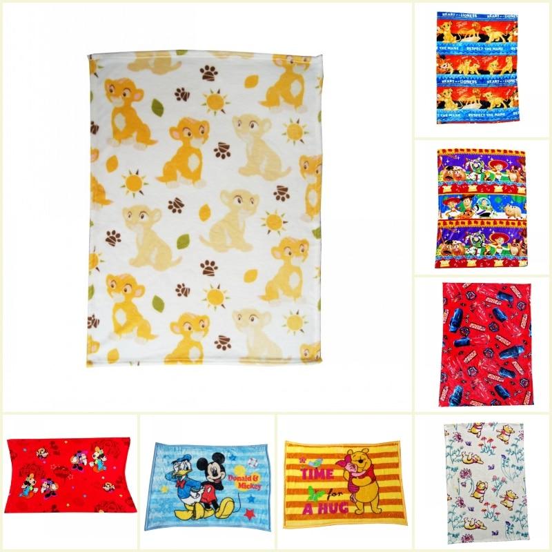 Couvertures douces en flanelle | Disney Lion roi Simba, petite couverture de Mickey Mouse, sieste pour bébés garçons filles, cadeau pour enfants, 75x100cm sur lit