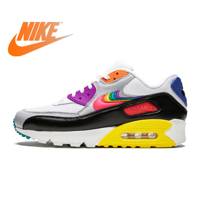 Nike Air Max 90 BETRUE  Woman Running Shoes Breathable Anti-slip Sports Sneakers  CJ5482-100