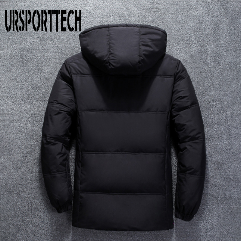 Image 3 - 2019 New High Quality White Duck Thick Down Jacket Men Coat Snow Parkas Male Warm Brand Clothing Winter Down Jacket Outerwear-in Down Jackets from Men's Clothing