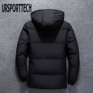 Image 3 - 2019 New High Quality White Duck Thick Down Jacket Men Coat Snow Parkas Male Warm Brand Clothing Winter Down Jacket Outerwear