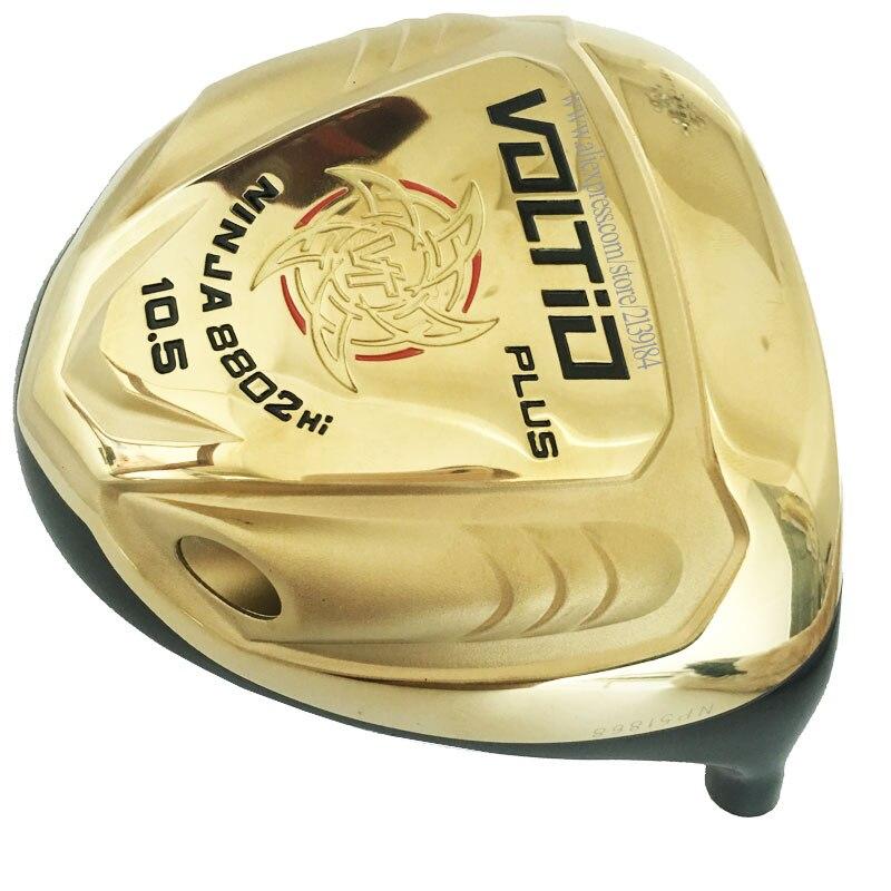 New Driver Golf Head KATANA VOLTIO PLUS Golf Driver 10.5 Or 9.5 Loft Driver Clubs Head No Golf Shaft Cooyute Free Shipping