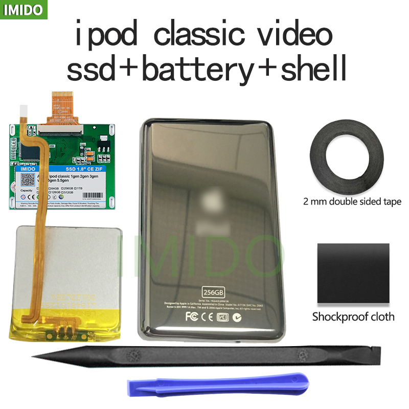 Новый 80G 120GB 240G 480GB SSD для Ipod classic 7Gen Ipod ВИДЕО 5-Й Замена MK3008GAH MK8010GAH MK1634GAL Ipod HDD бесплатный инструмент
