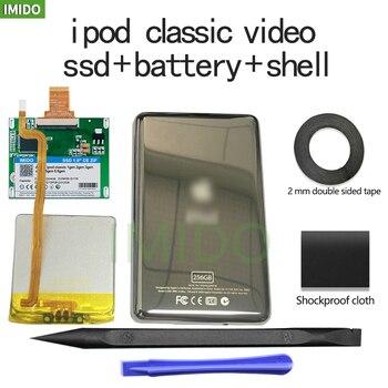 New SSD 32GB 64GB 128GB 256GB 512GB 1TB For Ipod Classic 7Gen Ipod Video 5th Replace MK3008GAH MK8010GAH MK1634GAL Ipod HDD Tool