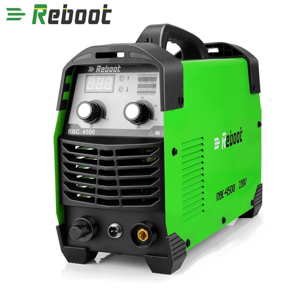Reboot Plasma Cutter 45Amps AC220V Voltage Air Plasma Cutting Machine Clean Cutting Metal Cutter Inverter Cutting Machine
