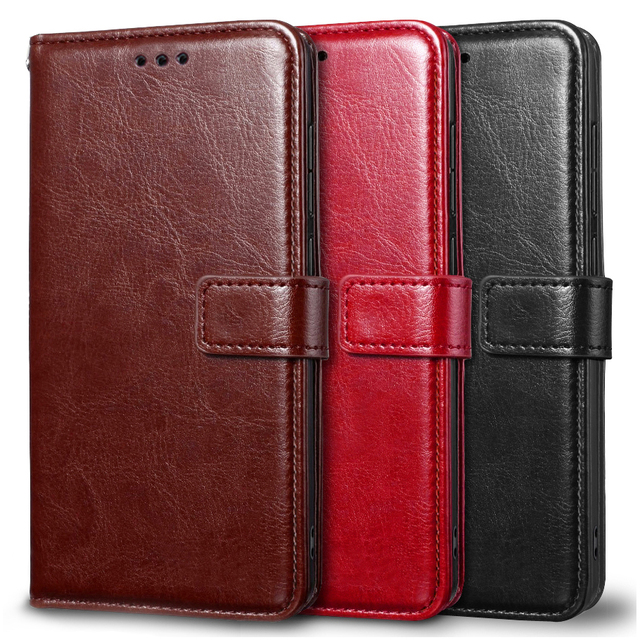 Case For Xiaomi Redmi 7A Case Cover Soft Silicone PU leather flip For Coque Xiomi Redmi 7A Phone Case with Card Holder Magnetic