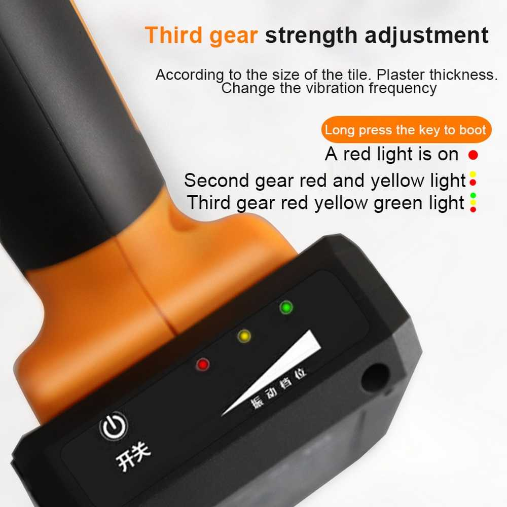 easy lithium battery wireless tile leveling machine tile floor portable power tool wall tile vibration leveling pressure tool