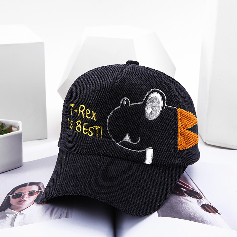 Hc8eeda3cd37a477db85e91659837261eX - Spring Autumn Baby Baseball Cap Cartoon Dinosaur Baby Boys Caps Fashion Toddler Infant Hat Children Kids Baseball Cap