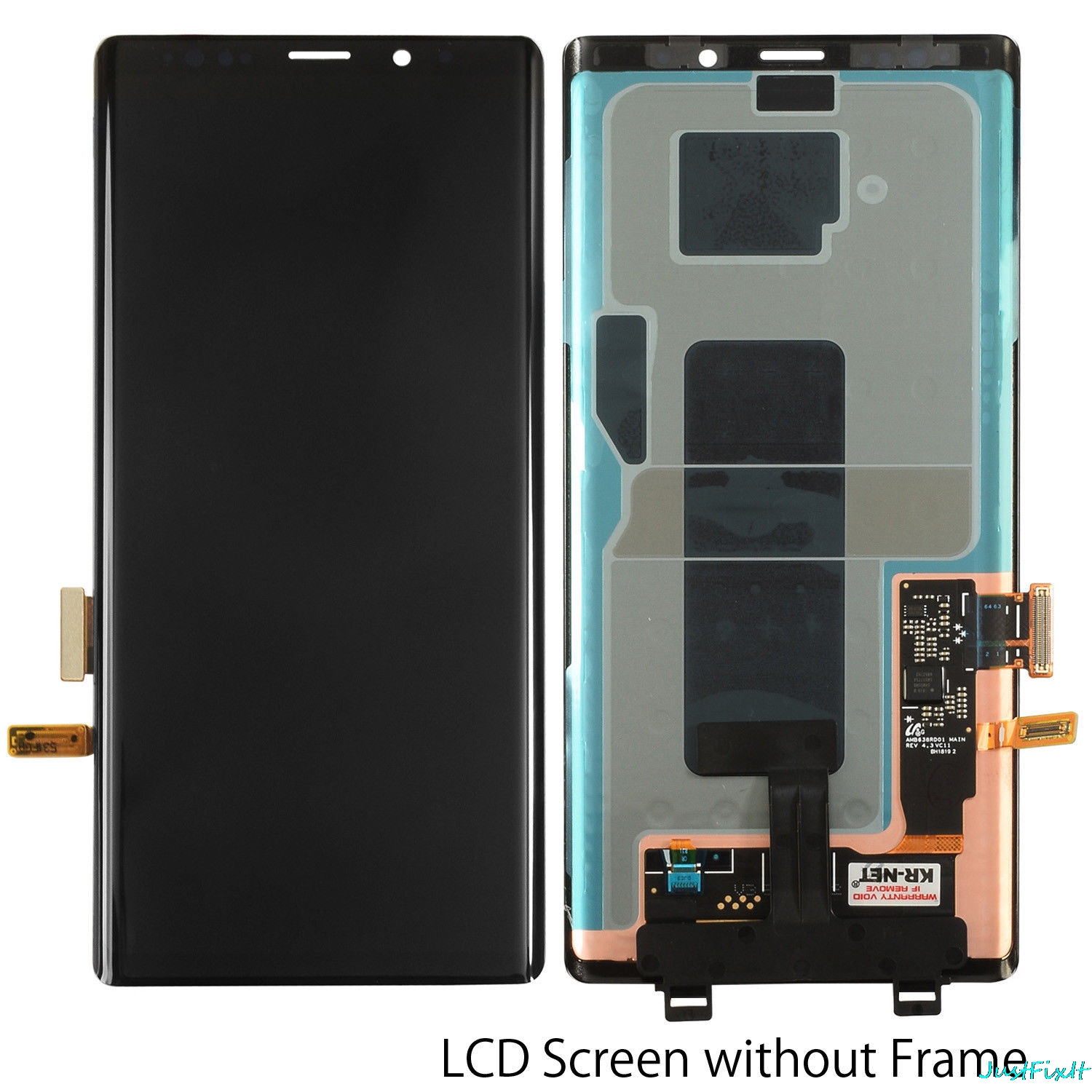 Image 3 - For Samsung Galaxy Note 9 Lcd Display Touch Screen 100% Original Digitizer Assembly N960 N960F N960D N960DS lcd with Frame-in Mobile Phone LCD Screens from Cellphones & Telecommunications