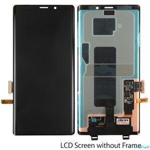 Image 3 - ЖК дисплей с сенсорным экраном для Samsung Galaxy Note 9, 100% оригинальный дигитайзер в сборе N960 N960F N960D N960DS, ЖК дисплей с рамкой