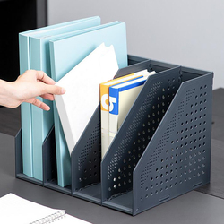 File Organizer Box Stretchable File Organizer Box Office Desk File Tray Foldable Magazine Book Holder Stand Bookshelf Stationery