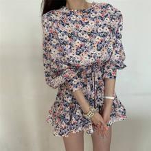 Весна осень сексуальные повседневные женские короткие мини платья