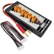Hotrc xt60 2s 6s разъем lipo батарея параллельная зарядка плата