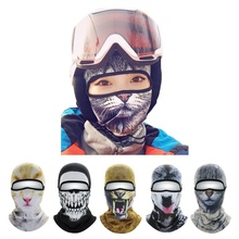 Full face sealed hooded face mask turban motocross cycling soprts winter fashion outdoor snowball fight riding motorcycle mask