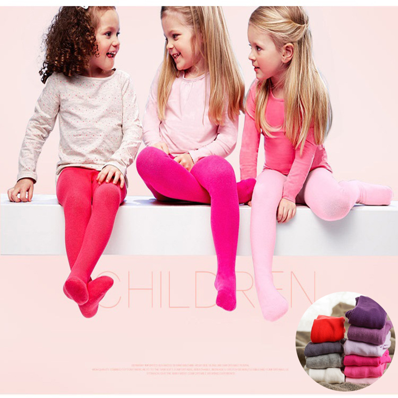 Baby Girl Tights Cotton Kid Girl Pantyhose Autumn Winter Baby Knitted Collant Tights Stockings Toddler Pantynose Infant Clothing